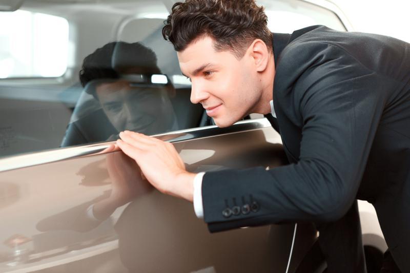 Examining car